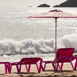 Зонт PAMELA BALLIU FABRIC 200 4300BF2 красный Balliu