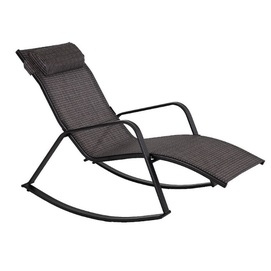 Кресло качалка BOSTON 19372 черный Garden4You 2020
