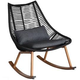Кресло качалка HELSINKI 20534 темно-серый Garden4You 2020