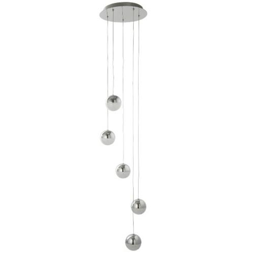 Люстра Marbles 5845-5CC серебро Searchlightelectric 2020