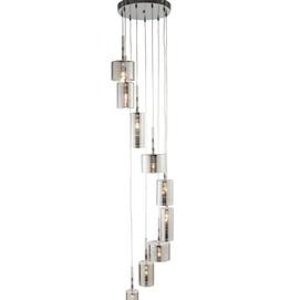 Люстра Linen 1939-9CC серебро Searchlightelectric 2020