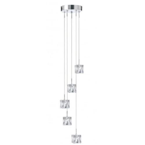 Люстра Ice Cube 6775-5-LED серебро Searchlightelectric 2020