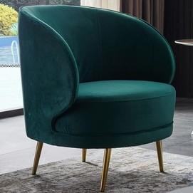 Кресло Сильвия зеленый Verde 2020
