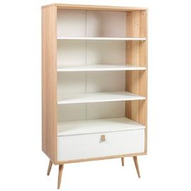 Шкаф книжный HELENA 20046 белый+бежевый Evelek 2020