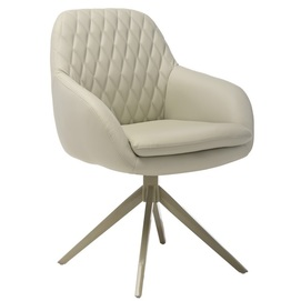 Кресло поворотное R-85 светло-серый Verde 2020