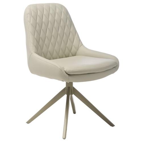 Кресло поворотное R-80 светло-серый Verde 2020