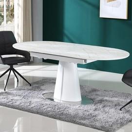 Стол обеденный раскладной TML-800 белый Verde 2020