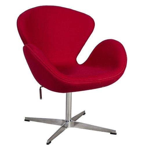 Кресло SWAN 39021 красный Evelek 2020