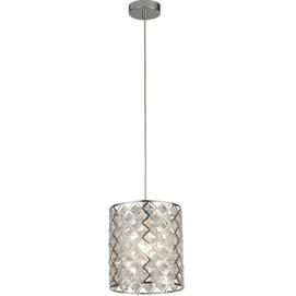 Лампа подвесная Tennessee 4421-1CC серебро Searchlightelectric 2020