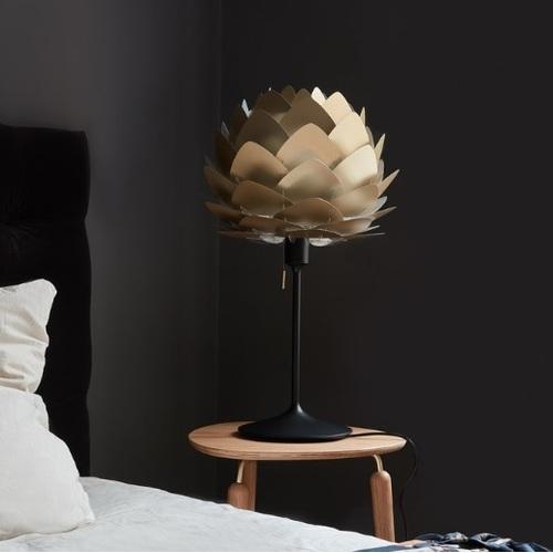 Лампа настольная  Aluvia mini 2122+4046 латунь Umage