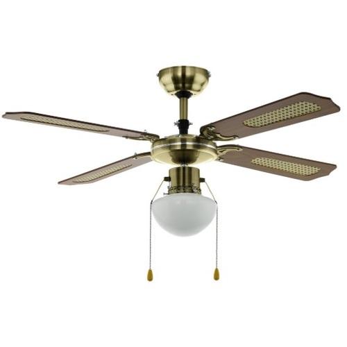 Люстра - вентилятор TIGGANO 35039 коричневый Eglo 2020