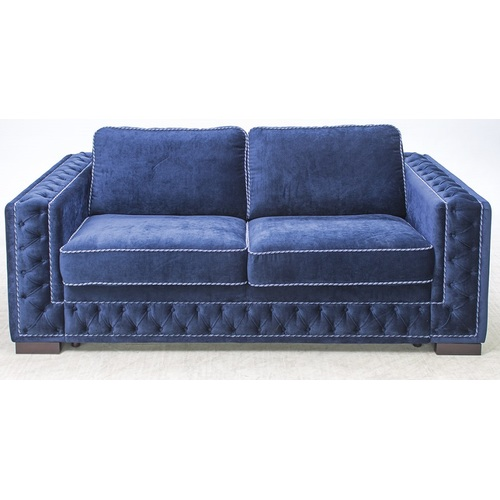 Диван двойка раскладной LOUR5NS (417.003t) синий TheXATA