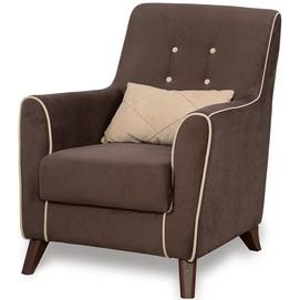 Кресло TOM1S коричневое TheXATA
