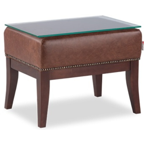 Пуф (стол прикроватный) S-12-8-sp Рафаэль коричневый D'LineStyle