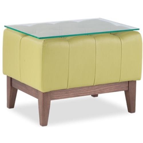 Пуф (стол прикроватный) РЕМБРАНДТ S-14-7-sp зеленый D'LineStyle