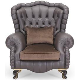 Кресло 41R9O (230.001) серо-бежевое theXATA