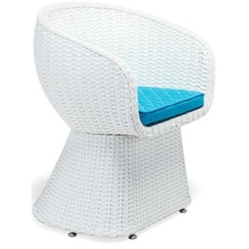 Кресло (стул) Verona бело-голубое ConCon