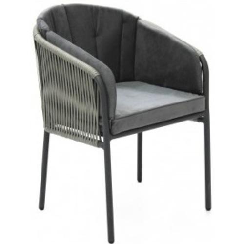 Кресло Rope серое ConCon