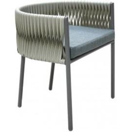 Кресло Kilt светло-серое ConCon