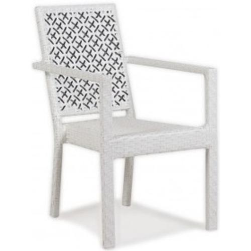 Кресло Dallas белое ConCon