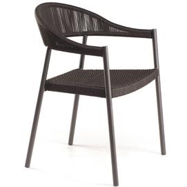 Стул Клевер (плетеное сиденье) коричневый Pradex
