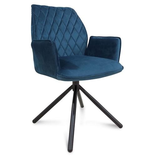 Кресло поворотное М-34 синий Verde 2020