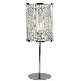 Лампа настольная Elise 8931CC серебро Searchlightelectric 2020