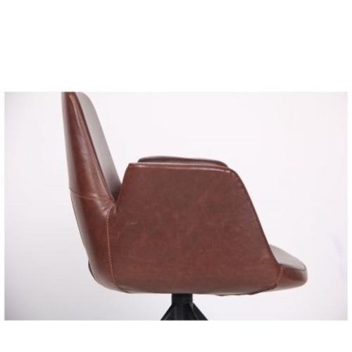 Кресло поворотное Bowie 545670 коричневый Famm 2020