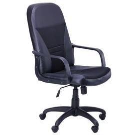 Кресло офисное Анкор Пластик Неаполь N-20 031003 черный Famm 2020