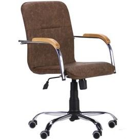 Кресло офисное Самба-RC 293040 коричневый Famm 2020