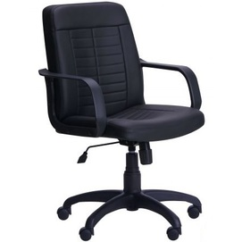 Кресло офисное Нота Пластик Неаполь N-20 033423 черный Famm 2020