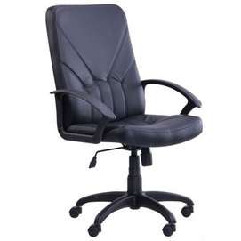 Кресло офисное Менеджер Пластик Неаполь N-20 139053 черный Famm 2020