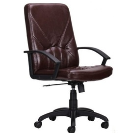 Кресло офисное Менеджер Пластик Мадрас 032535 коричневый Famm 2020