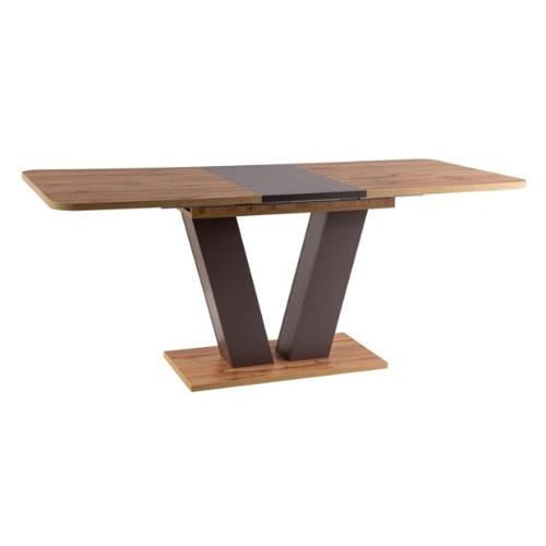Стол обеденный раскладной Platon коричневый Signal 2020