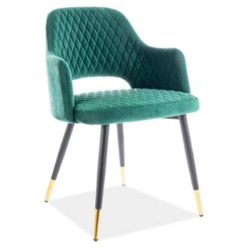 Кресло Franco Velvet зеленый Signal 2020