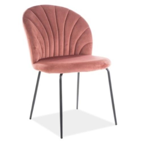Стул Lola Velvet розовый Signal 2020
