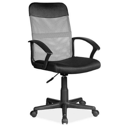 Кресло офисное Q-702 серый Signal 2020