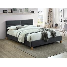 Кровать Sierra 160 Velvet черная Signal 2020