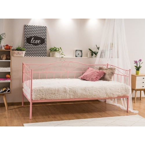 Кровать Birma 90см розовый Signal 2020
