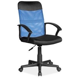 Кресло офисное Q-702 синий Signal 2020