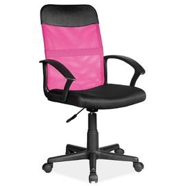 Кресло офисное Q-702 розовый Signal 2020