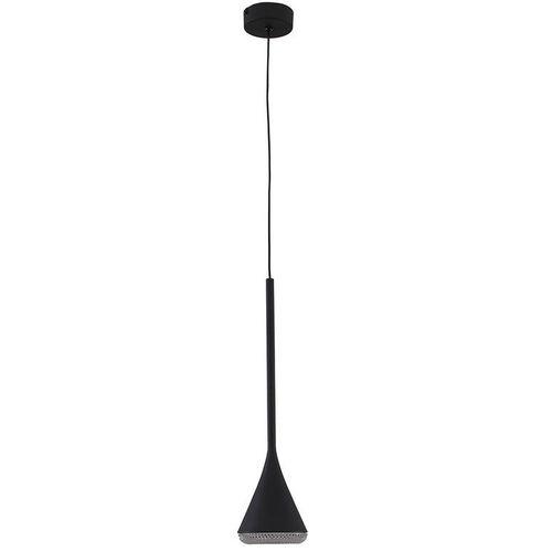 Лампа подвесная P 2489 9W LED черный Stellare