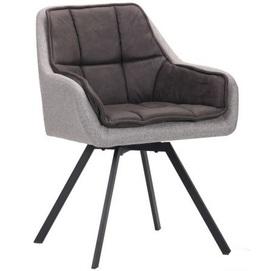 Кресло поворотное Virginia антрацит+серый 545793 Famm 2020