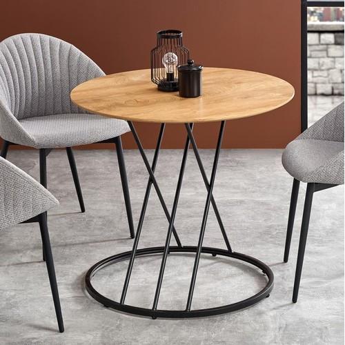 Стол обеденный SVEN коричневый Halmar