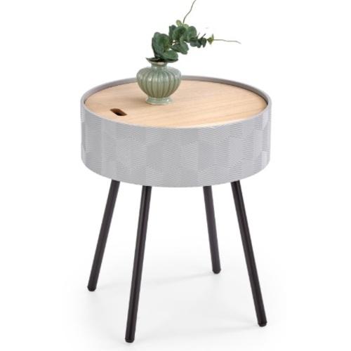 Стол кофейный AURA серый Halmar