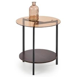 Стол кофейный GIRONA коричневый Halmar