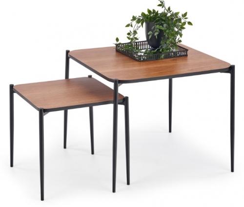 Набор столиков GUARDIA коричневый Halmar