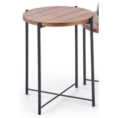 Стол кофейный TANAKA-S коричневый Halmar