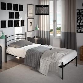 Кровать Маранта (Мини) 80*200 см черный Tenero