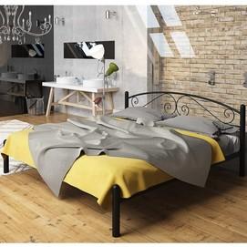 Кровать Виола 180*200 см черный Tenero